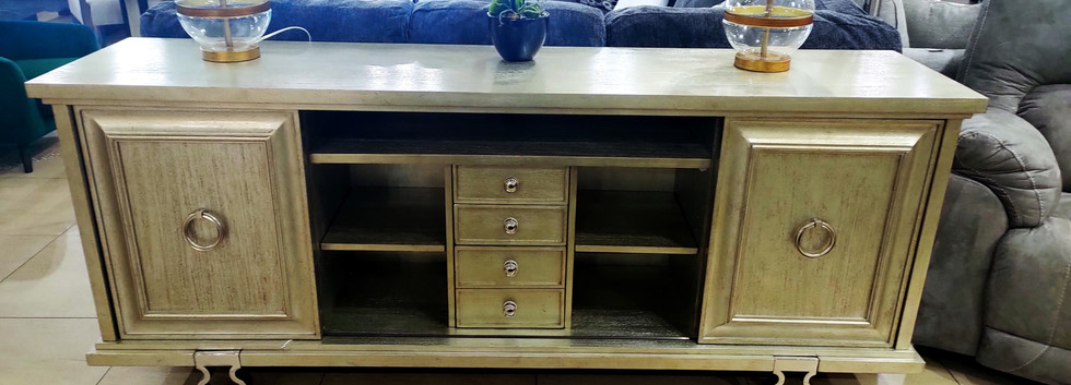 Wide Entertainment Console