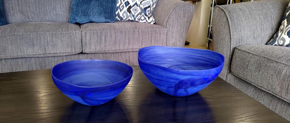 Contemporary Glass Bowls