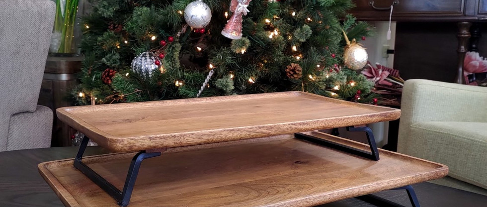 Wood & Metal Trays