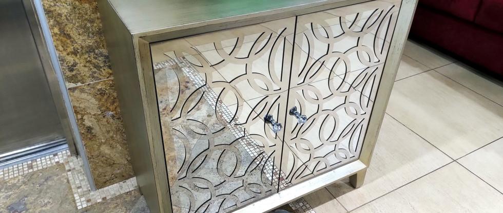 Eye-Catching 2-Door Cabinet