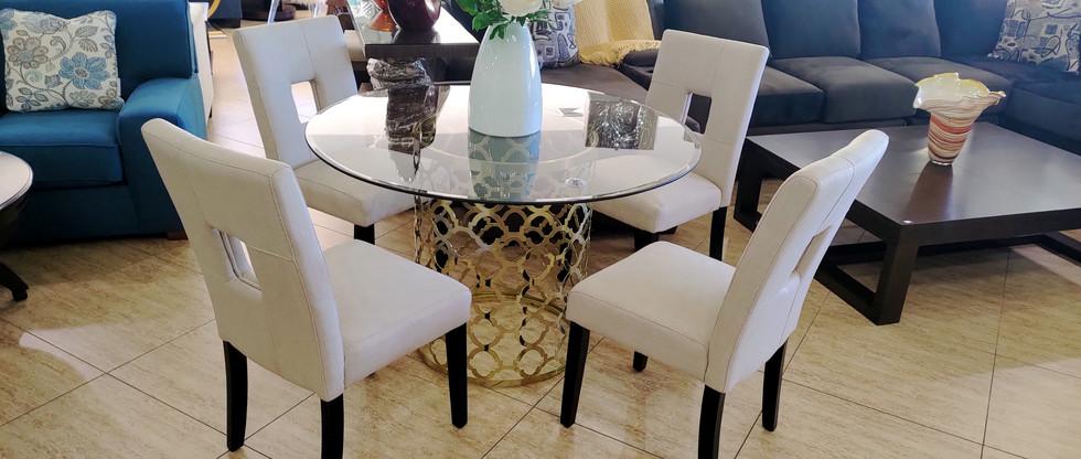 Contemporary 5-Piece Dining Set