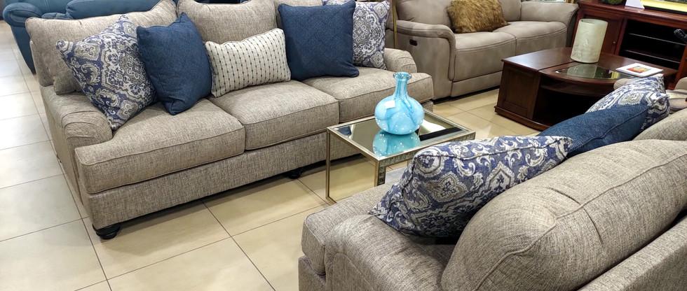Comfy and Elegant Sofa & Loveseat