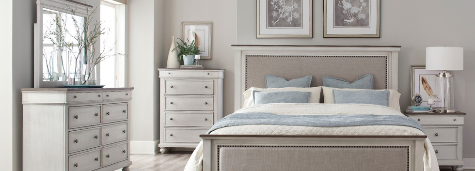 5-Piece Cottage-Style King Bedroom Set