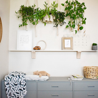 Oliver's Bright Botanical Room Reveal