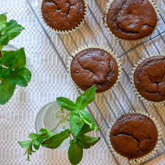 Allergy Friendly Double Chocolate Muffins