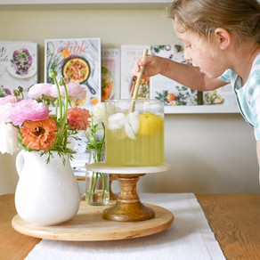 Cooking With Ava: Classic Honey Lemonade