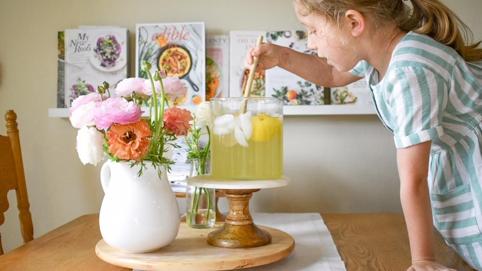 Cooking With Ava: Classic Honey Lemonade