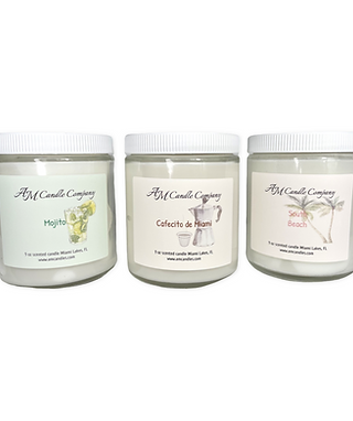 Miami Vibes Candle Collection