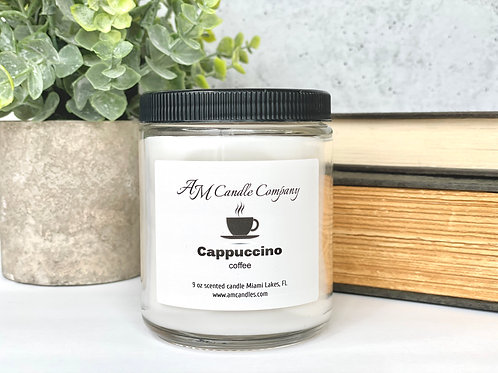 Cappuccino Coffee Candle