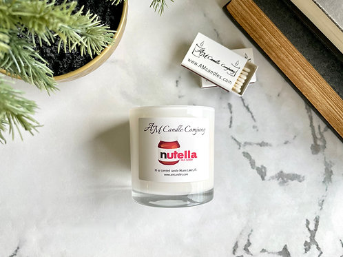 Nutella like Scented Candle