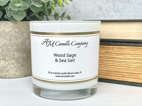 Luxe Collection Wood Sage & Sea Salt Candle
