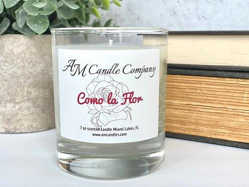 Como La Flor Selena inspired Scented Candle