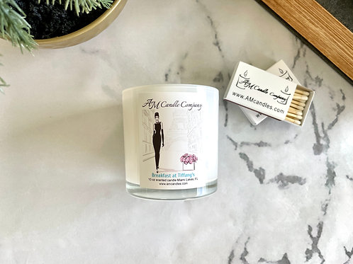 Breakfast at Tiffany's scented candle