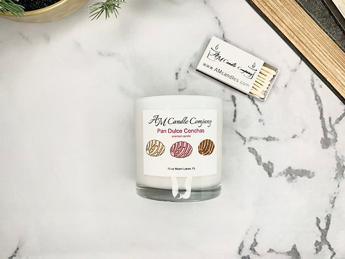 Pan Dulce Concha Scented Candle