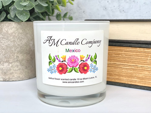 Mexico: Cactus Flower Scented Candle