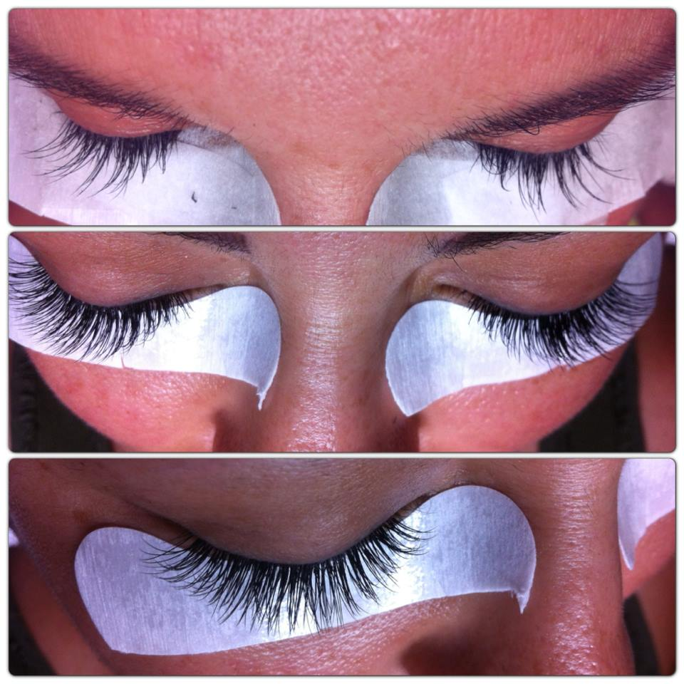 Dep Lashes: Before | During | After