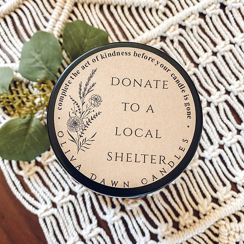 Donate to a Local Shelter