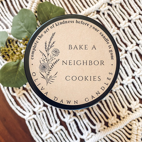 Bake a Neighbor Cookies