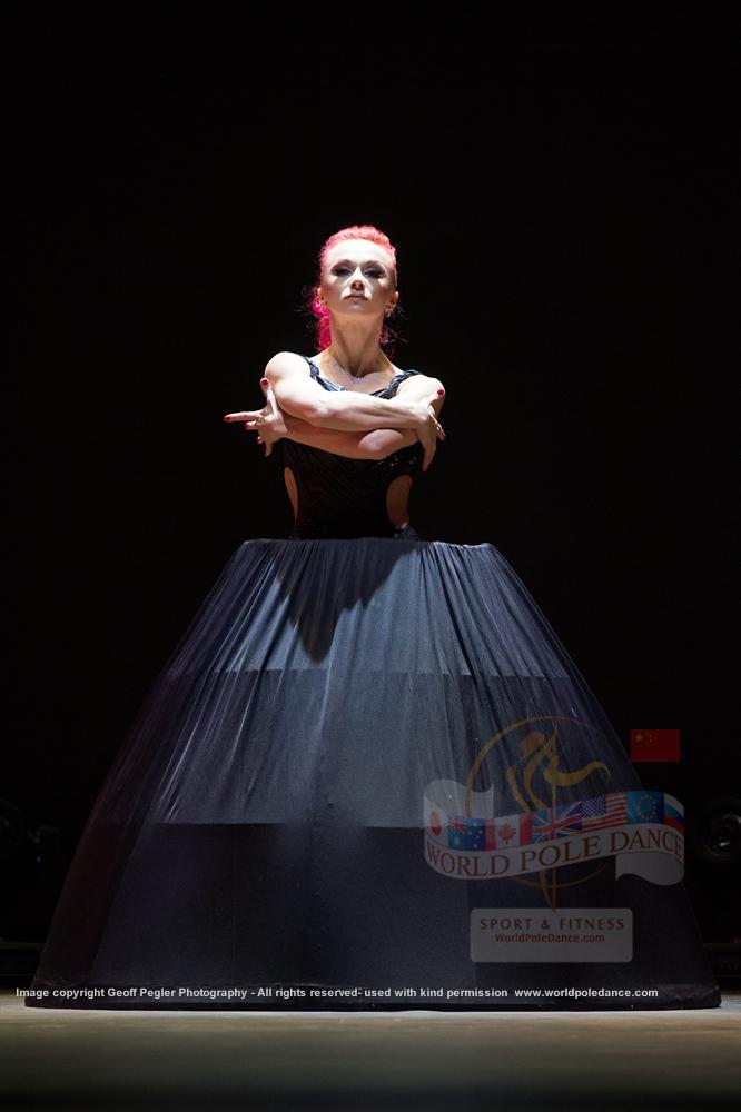 Polina Volchek Beijing China 2015