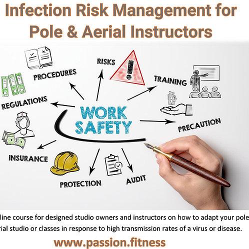 ONLINE Infection Risk Management for Pole & Aerial Instructors