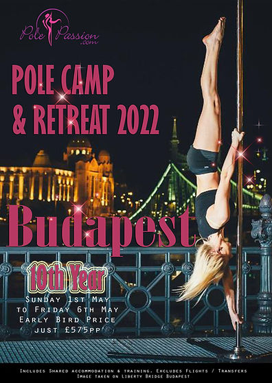 Pole Passion Budapest Pole Retreat 2022.