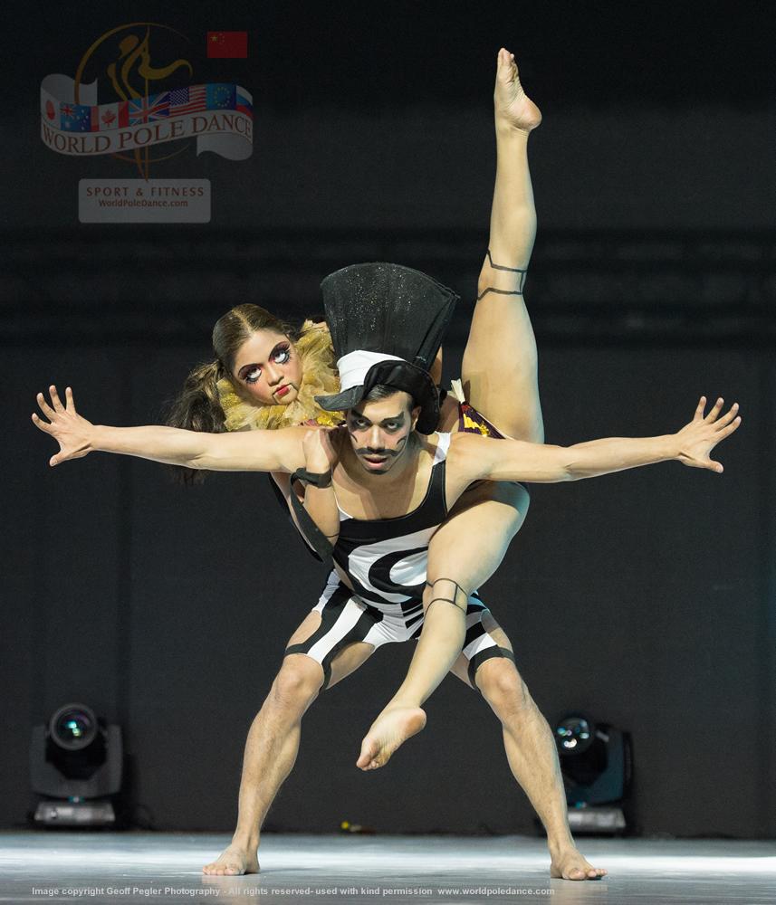 Kayleen Ortiz and Emmanuel Lgnacio PHILLIPINES