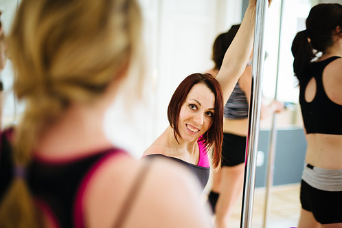 Start Your Own Pole Fitness Classes - includes ONLINE instructor training