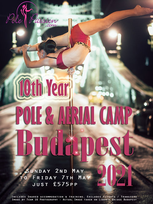 Pole & Aerial Training Camp - Budapest 2021