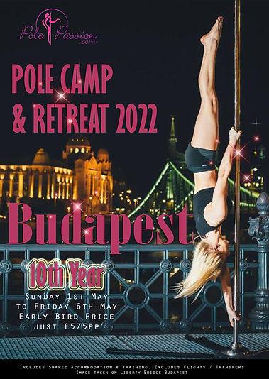 Pole Passion Budapest Pole Retreat 2022.