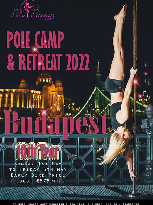 Pole & Aerial Training Camp - Budapest 2022