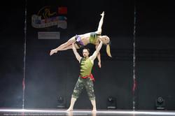 Hanna Antonova and Andrii Kopyniak