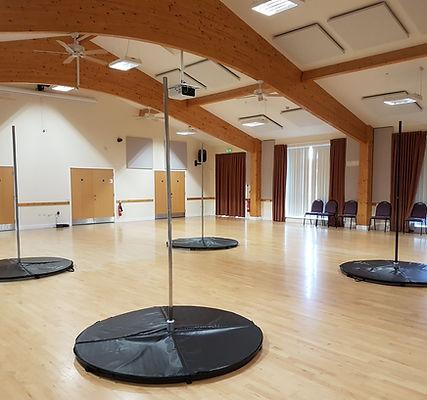 Portable pole dance fitness