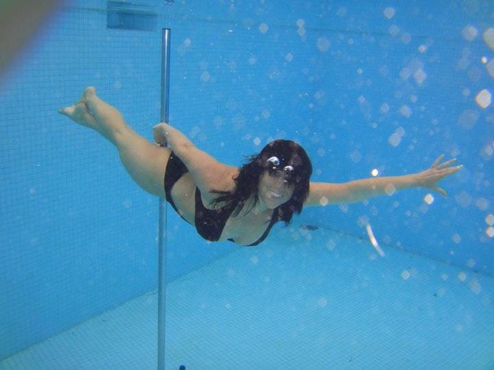 Kay underwater Spain 2011