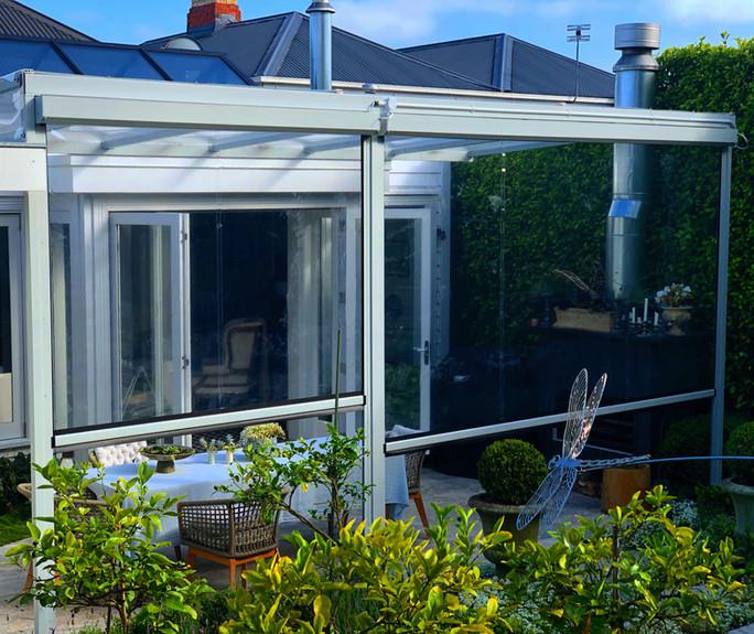 Clear Screens, Acyrlic Canopy