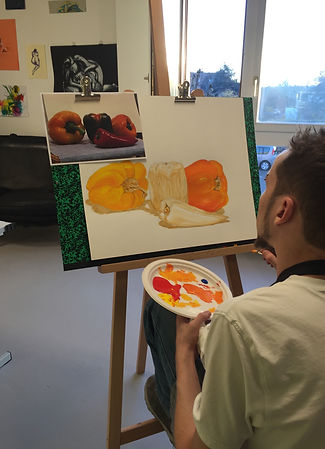 Peinture adolescents