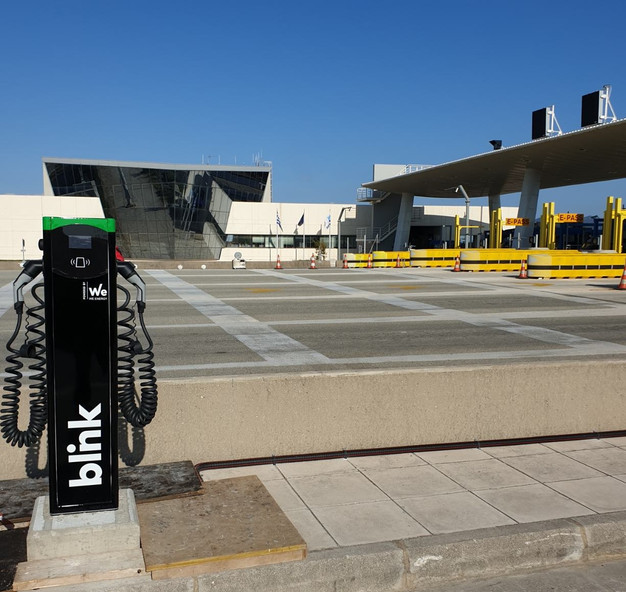 Blink Charging Stations >> Blink Charging Deploys Its First Ev Charging Stations In Greece