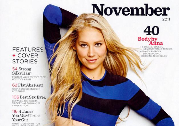 Anna Kournikova on Women Health Mag November 2011 1.jpg