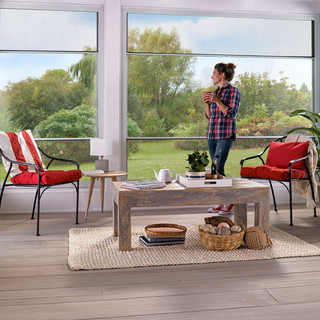 Expanse Porch Window - Interior with Mor