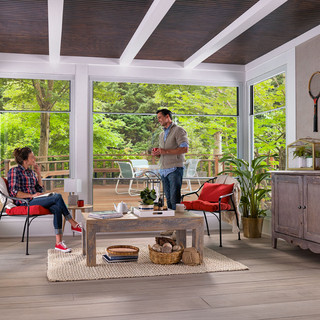 Expanse Porch Window - Interior with Cou