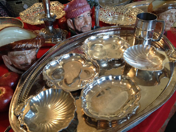 Silver Bells? Silver Trays.