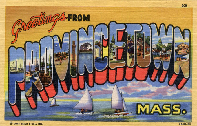 Postcard Views of Provincetown