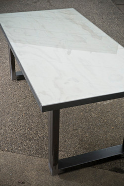 Whitewash Conference Table