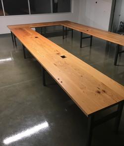 "Large ""U"" Shape Conference Table"