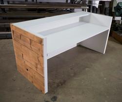 Reclaimed Reception Desk
