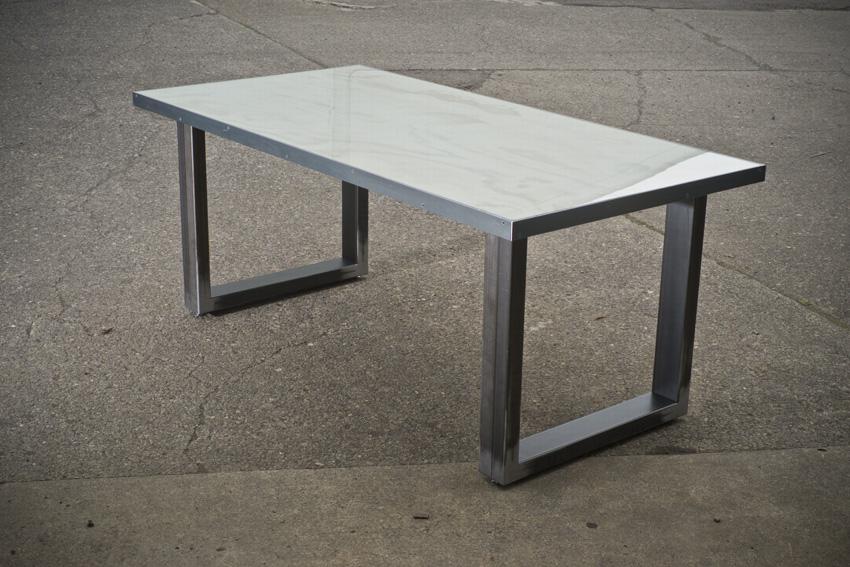 Whitewash Work Table
