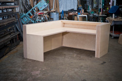 Plywood Reception Desk