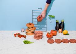 Hamburger im Sommer