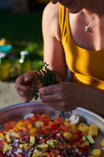 Gemüse rüsten