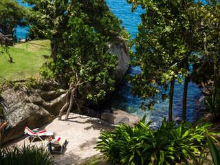 Cenário Paradisíaco em Ilhabela
