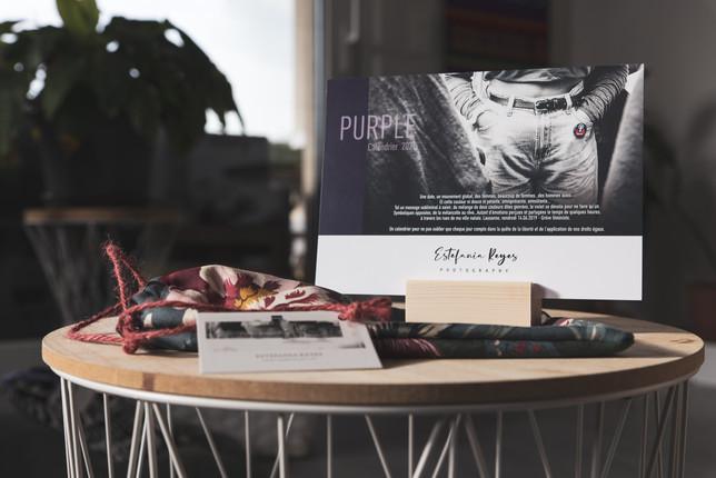 Purple Calendrier 2021